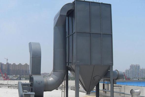 沥青搅拌站除尘器应用