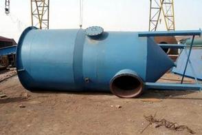 BLS-II-8L型双锥塔低阻高效湿式除尘器